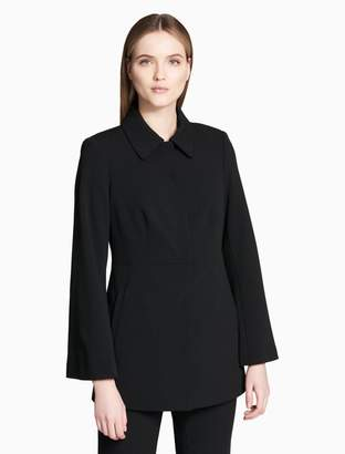 Calvin Klein collar scuba stretch jacket