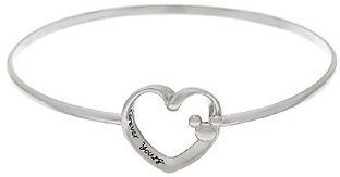 Disney Sterling Silver Motif Catch Bangle $27.50 thestylecure.com