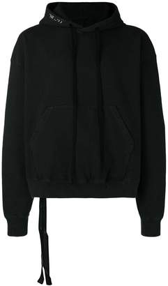 Unravel Project boxy cropped hoodie