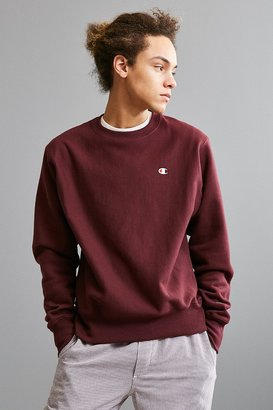 Champion Reverse Weave Fleece Crew Neck Sweatshirt $49 thestylecure.com