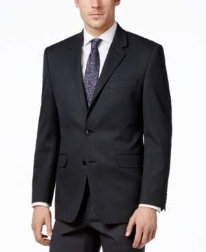 Alfani Men's Traveler Charcoal Solid Big and Tall Classic-Fit Jacket, Created for Macy's