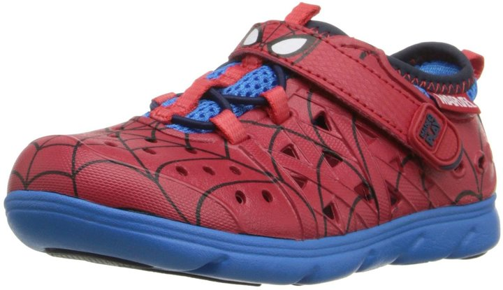 Stride Rite Made 2 Play Spiderman Phibian  (Inf/Tod) - Red - 6 M Toddler
