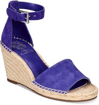 Vince Camuto Leera Espadrille Wedge Sandals Women Shoes