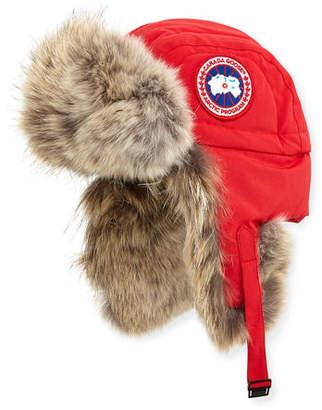Canada Goose Fur Aviator Hat