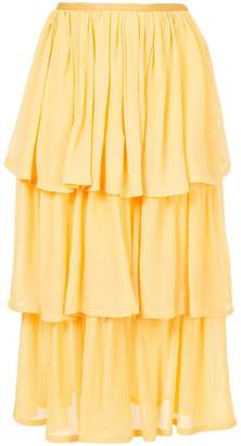 Maryam Nassir Zadeh three-tier skirt