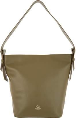 Radley London London Finch Street Leather Large Bucket Hobo Handbag