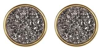 Gorjana Astoria Large Druzy Stud Earrings