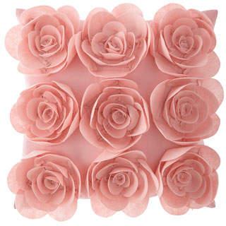 Design Source Floral Pillow
