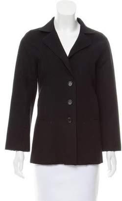 Burberry Wool Notch-Lapel Jacket