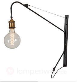 Minimalistische Vintage-Wandlampe Konstantin
