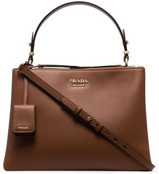 Prada double-zip tote bag