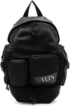 Valentino Backpack in Black | FWRD