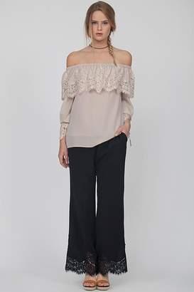 Gold Hawk Claudette Lace Pants
