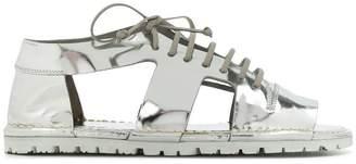 Marsèll cut out lace-up shoes