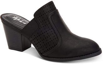 Style&Co. Style & Co Women's Joelynn Perforated Mules, Created for Macy's