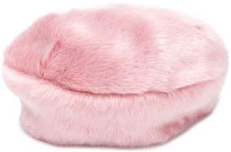Eugenia Kim furry baret
