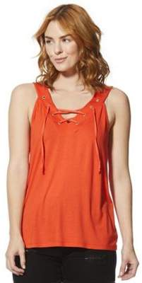 F&F Eyelet Lace-Up Vest Top 14