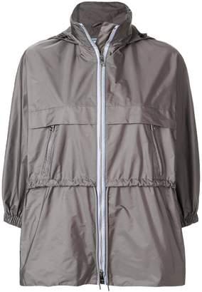 Prada funnel neck nylon jacket