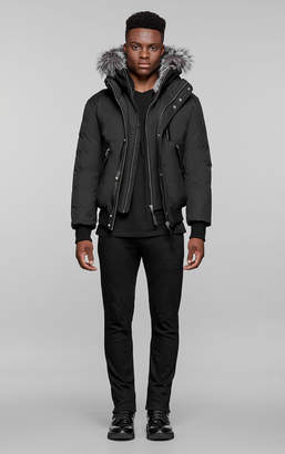 Mackage DIXON-X hip length winter down parka with fur