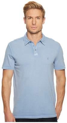 John Varvatos Pigment Rub Peace Polo K1381U1B Men's Clothing