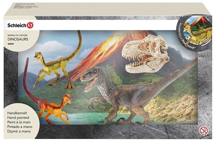 Schleich World of History Dinosaurs Set