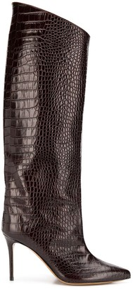 Alexandre Vauthier Croco High Booty boots