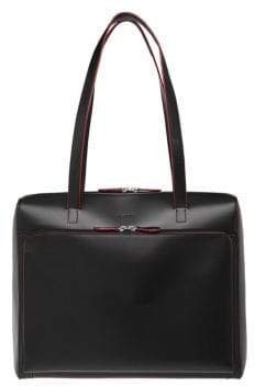 Lodis Audrey Under Lock and Key Top Zip Leather Tote