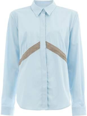 Aalto check panel shirt