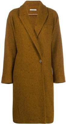Dusan wrap front coat