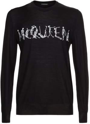 Alexander McQueen Dancing Skull Sweater