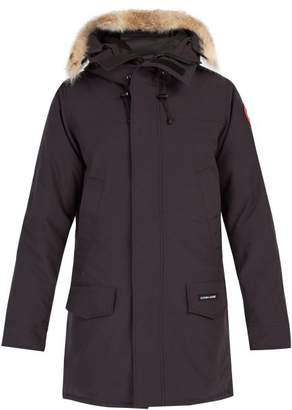 Canada Goose Langford Hooded Down Filled Parka - Mens - Navy