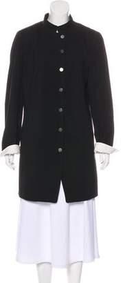Akris Punto Lightweight Button-Up Coat