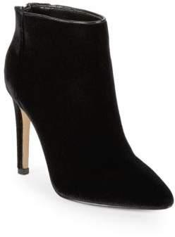 Ava & Aiden Melyssa Velvet Ankle Boots
