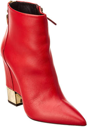 Giuseppe Zanotti Leather Wedge Boot