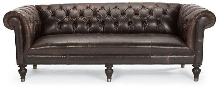 Barclay Leather Sofa - Clearance
