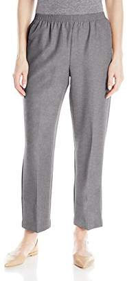 Alfred Dunner Women's Petite Poly Proportioned Short Pant