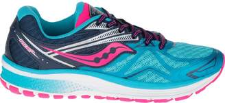 Saucony Girl's Ride 9 Running Shoe (SAU-S14000* 34630C0 6 BLU/PNK)