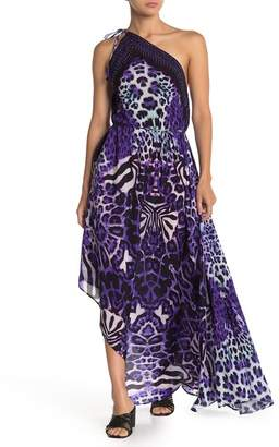 Shahida Parides Leopard Printed 3-Way Style Maxi Dress