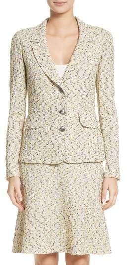 Romee Tweed Knit Blazer