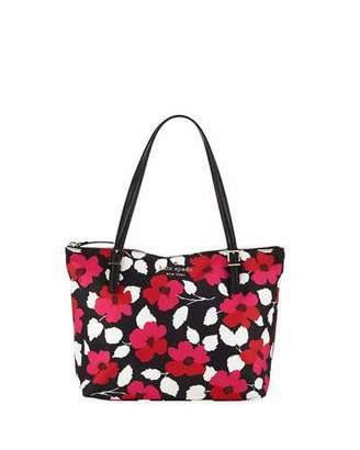 Kate Spade Watson Lane Maya Small Floral Tote Bag