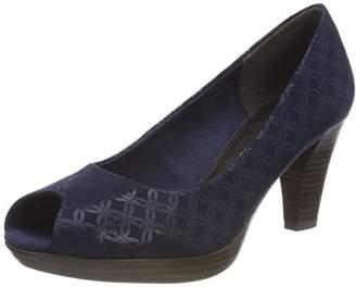 Marco Tozzi 29302, Women's Peep-Toe Open Toe Heels,(36 EU)