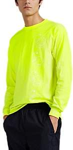 United Standard Men's Angry-Turtle Cotton Long-Sleeve T-Shirt - Yellow
