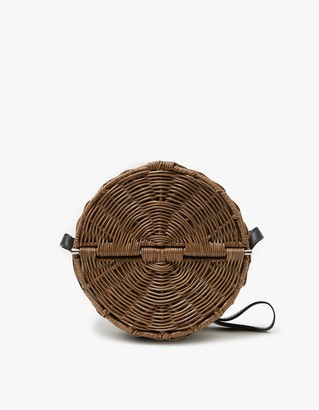 All Wicker Baan in Clove-Black $472 thestylecure.com