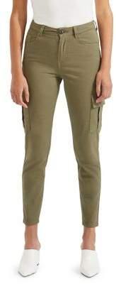Miss Selfridge Skinny Cotton Cargo Pants