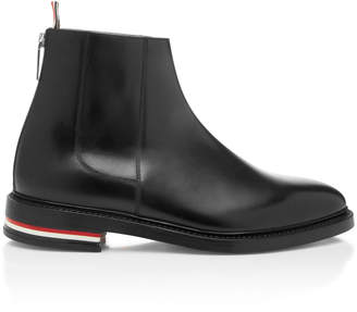 Thom Browne Zip Leather Chelsea Boot