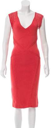 Zac Posen Knit Bodycon Dress