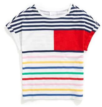 Tommy Hilfiger Stripe Flag Tee