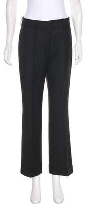 Stella McCartney Wool Mid-Rise Pants