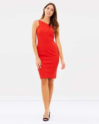 Karen Millen One-Shoulder Pencil Dress