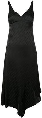 Off-White branded asymmetric dress